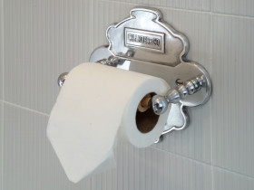 A4 Toilet Roll Holder and Backplate