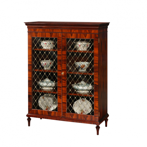 Titchmarsh & Goodwin Rosewood Display Cabinet