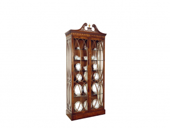 Titchmarsh & Goodwin Mahogany Display Cabinet - 2