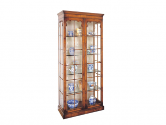 Titchmarsh & Goodwin Walnut Display Cabinet - 2