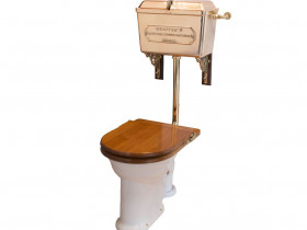 LOW-LEVEL WC SET WITH CAST '814' CISTERN