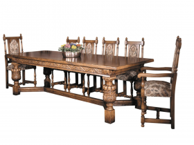Titchmarsh & Goodwin English Oak Elizabethan Refectory Table