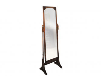 Titchmarsh & Goodwin English Oak Cheval Mirror