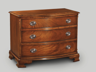 Iain James Bow Chest 3 Drawer