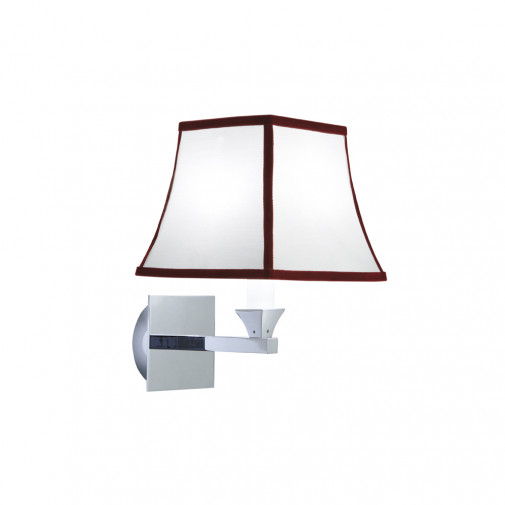 Astoria Wall Light + Oxford trim shade