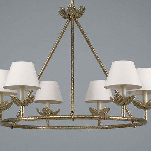 Vaughan Montferrat Leaf Chandelier