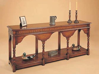 R. E. H. Kennedy Console Table with Potshelf