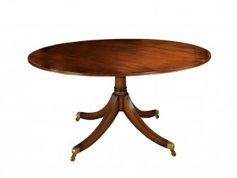 Titchmarsh & Goodwin Mahogany Breakfast Table
