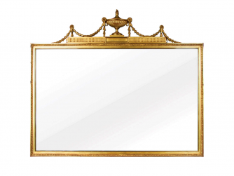 Titchmarsh & Goodwin Gilt Overmantel Mirror
