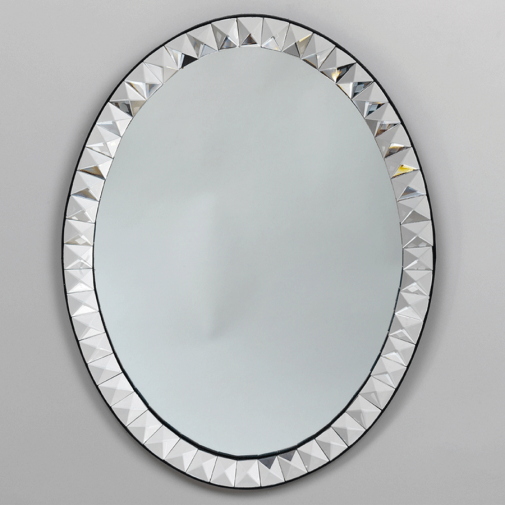 Vaughan Fitzwilliam Oval Mirror